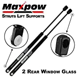 Maxpow 2 Pcs Gas Charged Rear Window Glass Lift Support Back Glass Window Support Struts Shocks 4676 Compatible With Expedition 1997 1998 1999 2000 2001 2002