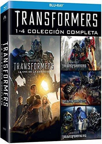Transformers Quadrologie Box Teil 1-4 [Blu-ray] [2014] Import mit deutschen Ton