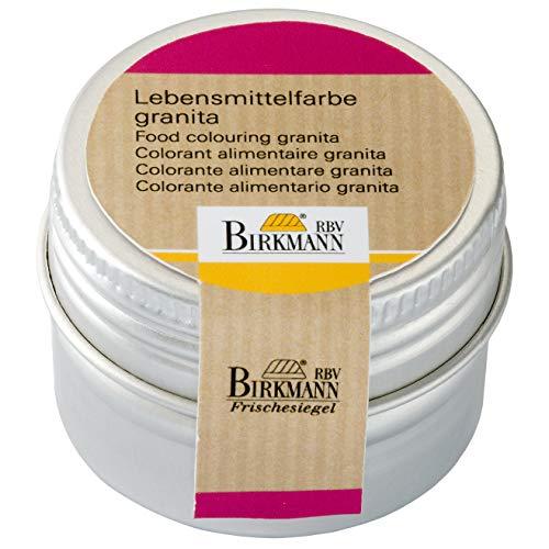 Birkmann 503250 Lebensmittelfarbe in Dose, granita, 10 g