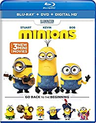 MINIONS MAD MAX MISSION IMPOSSIBLE POPULAR DOLBY ATMOS BLU-RAYS