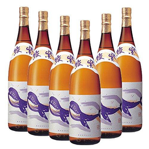 芋焼酎、くじら綾紫(1.8L)6本セット<br>・・焼酎は熟成が進み年月が増すほど美味しくなります・直射日光は避ける