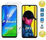Smartphone Equipment [2er Pack Panzerglas für Huawei P Smart 2019, 2020 9H Echtglas, Bildschirmschutz Panzerfolie Glasfolie Schutzfolie Glas Folie Bildschirm Schutz