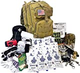 EVERLIT Complete 72 Hours Earthquake Bug Out Bag Emergency Survival Kit for Family. Be Prepared for Hurricanes, Floods, Tsunami, Other Disasters (3 Person Kit)