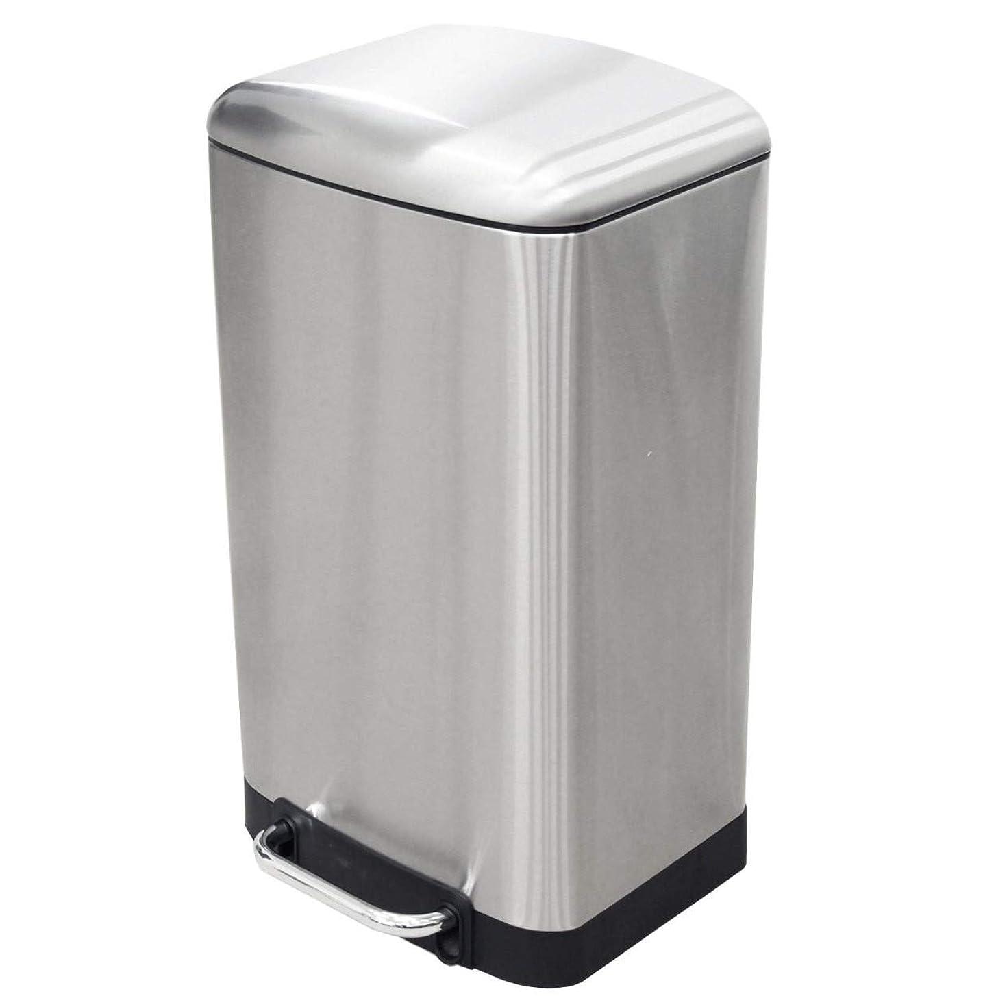 コーヒー変わる宝30L ステンレス ダストボックス トップアウト ダストボックス ゴミ箱 ごみ箱 ふた付 ペダル ペール