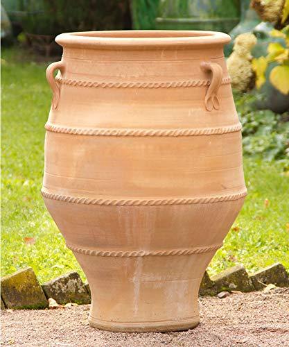 Céramique crète | amphore de jardin en terre cuite haute résistance au gel avec poignée | 80 cm | fait main et de haute qualité Jardin, balcon, terrasse, thymus2
