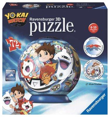 Ravensburger Puzzle Bola 3D Yo Kai Watch
