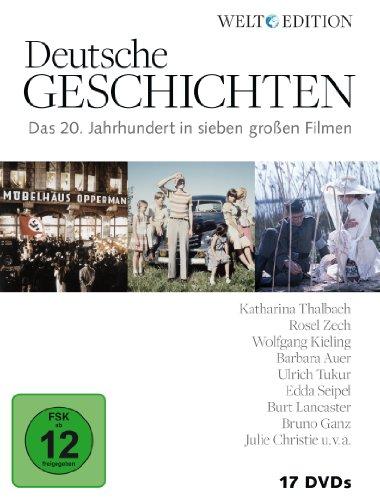 Deutsche Geschichten - Das 20. Jahrhundert in sieben großen Filmen [17 DVDs]