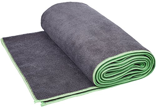Amazon Basics - Toalla para yoga, Verde