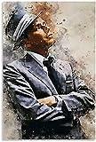 Leinwand kunst 40x60cm Kein Rahmen Frank Sinatra Poster Art