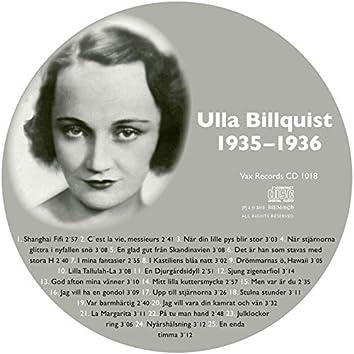 Den Kompletta Ulla Billquist 1935-1936