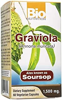Bio Nutrition Graviola Capsules, 60 Count