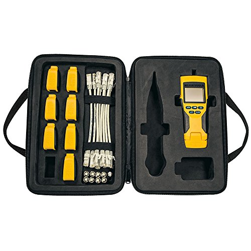 Klein Tools VDV501-824 Network Cable Tester, VDV Scout Pro 2 Tester and Test-n-Map Remote Kit, Tests Voice, Data and Video Coax Connections