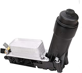 Yikesai 5184294AE Oil Filter Adapter Housing Assembly for 2011 2012 2013 Chrysler Dodge Jeep 3.6L V6