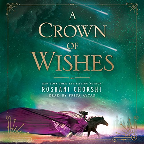 A Crown of Wishes audiobook cover art