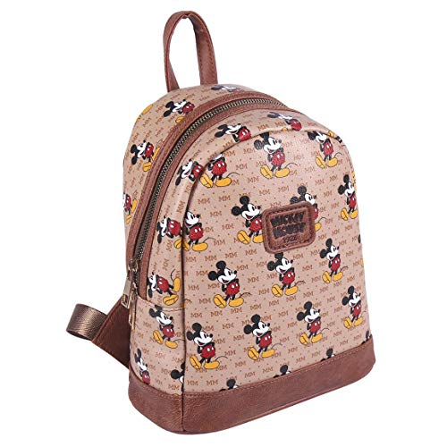 Cerdá Life's Little Moments Mosue, Mickey Mouse Casual Backpack – Official Licensed Disney for Men, Multicolour, Medium