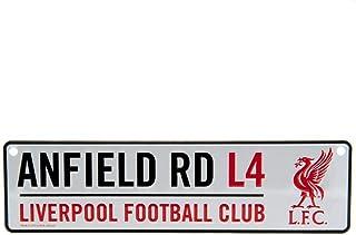 Oficjalny wiszący znak Liverpool F.C. 3D (Window) - ANFIELD RD