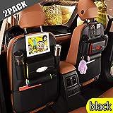 Auto Rückenlehnenschutz Rückenlehnen Kinder Rücksitztasche 2Pcs Autositzschutz für das iPad
