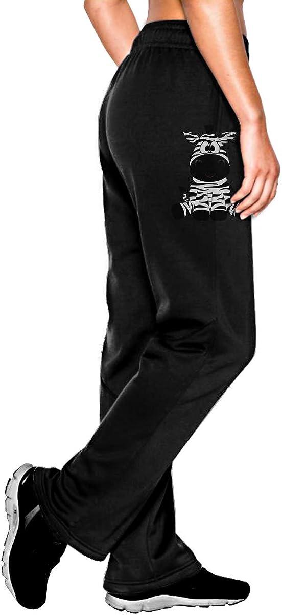 Vhlk07@P Womens Zebra Max 58% OFF Cartoon Jogger Casual Yoga Pan Sweatpants Import