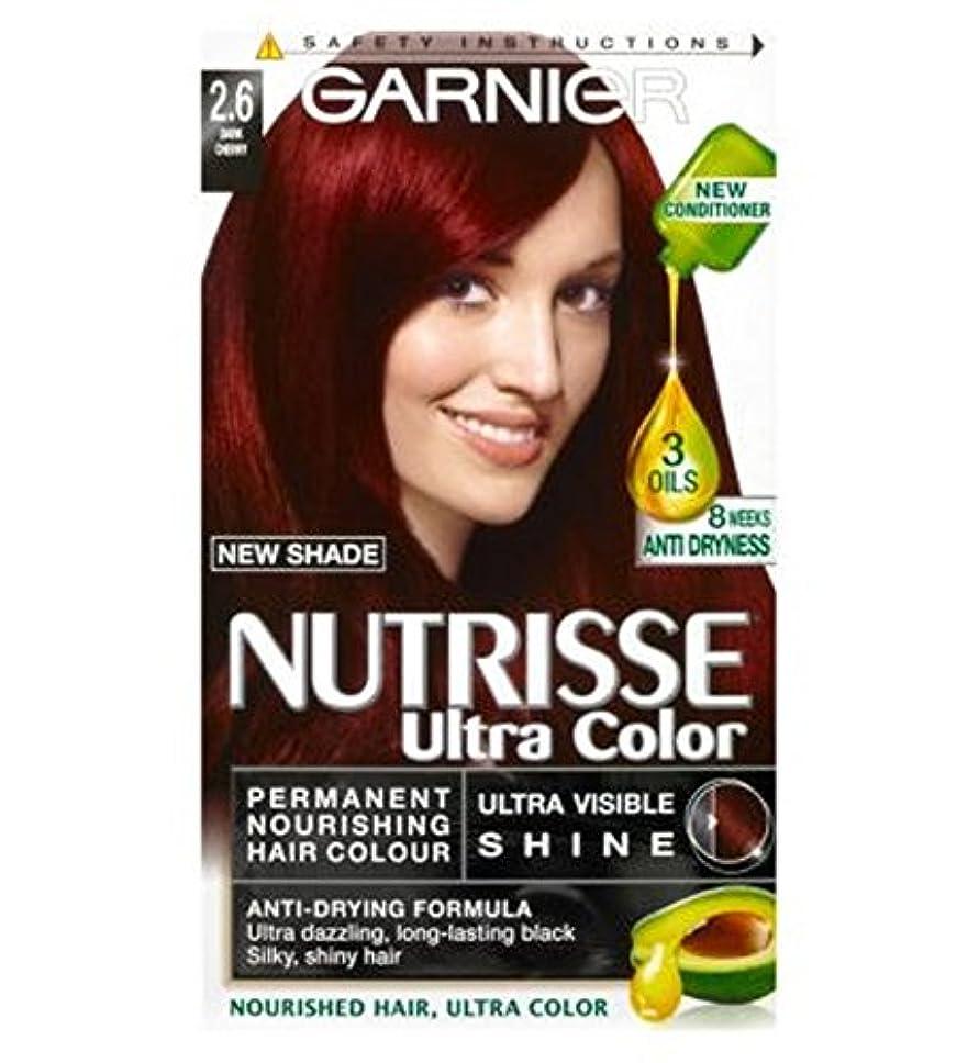 反対した承認するリンケージガルニエNutrisse超永久色2.6ダークチェリー (Garnier) (x2) - Garnier Nutrisse Ultra Permanent Colour 2.6 Dark Cherry (Pack of 2) [並行輸入品]
