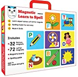 Magnetic learn to spell is a perfect introduction to simple words. The colorful pictures help your child associate words with objects. This product helps to develop early reading skills including letter recognition, word formation and spelling Workin...