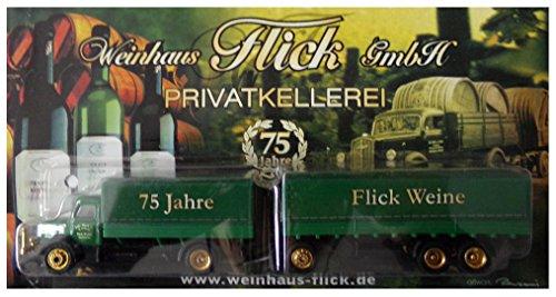 Weinhaus Flick Nr. - Privatkellerei - Krupp Mustang - Hängerzug Oldie