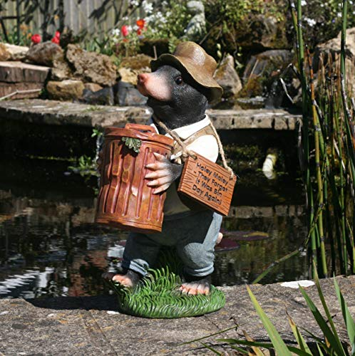 Garden Animals Collection Gartenfigur Monty Maulwurf, Kunstharz