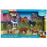 DreamWorks Spirit Riding Free 2-Inch Mini Horse Collection, Multi-Color