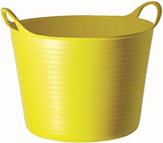 TUBTRUGS Medium 10 Tub, 6.5 Gallon, Yellow