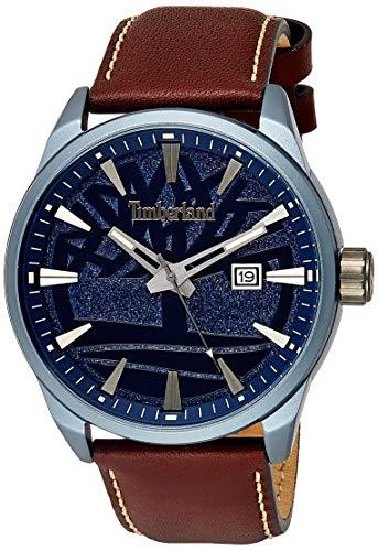 Timberland Reloj Analógico para Hombre de Cuarzo con Correa en Cuero TBL15576JLU.03