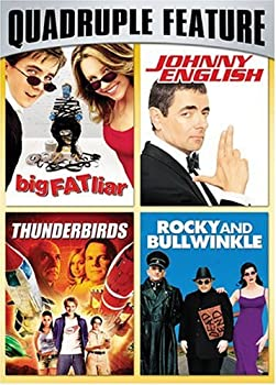 Family Fun Pack Quadruple Feature  Big Fat Liar / Johnny English / Thunderbirds / Rocky and Bullwinkle