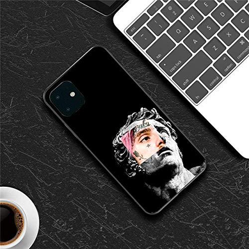 para iPhone 11 12 Funda Silicona Art Abstract para iPhone 7 8 6 6s Plus 11 Pro X XR XS MAX 5s SE Fundas para teléfono Funda de TPU Suave, 7771, para 12 o 12 Pro