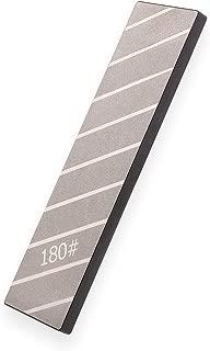 "Diamond Sharp Precision Lapping Plate | Extra Large 3 X 10"" Two 2-Sided Diamond Flattening Stone and Sharpening Plate | 120 & 180 Grit Smart Plate Whetstone Fixing Stone Flattener | Quality Guarantee!"