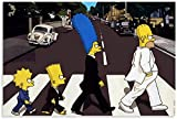 Poster Und Drucke Leinwand Malerei Die Simpsons Scream