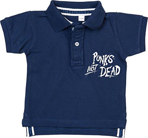 Racker-n-Roll Racker-n-Roll Punks NOT Dead Baby Polo Navy