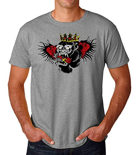 PasTomka Conor Monkey Tattoo Men's T-Shirt Hombre Camiseta XX-Large