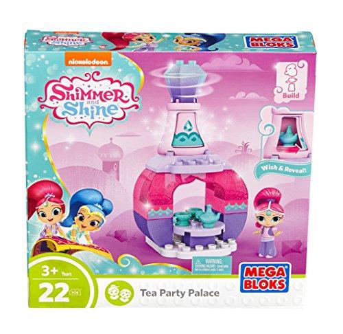 Mega Bloks Shimmer and Shine Genie Palace Bottle Shimmer Tea Party Building Set