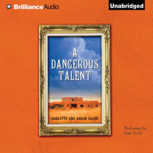 A Dangerous Talent audiobook cover art