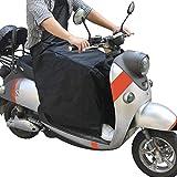 Beinschutz Roller Nässeschutz für Motorroller Rollerfahrer universal Wetterschutz Regenschutz von Cokomono, schwarz