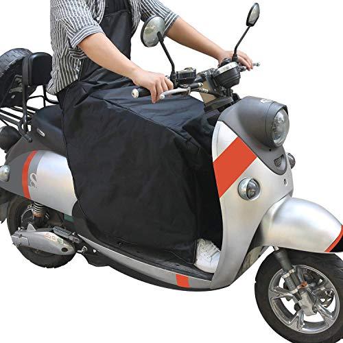 ALISTAR Manta Térmica Cubre Piernas para Moto, Cubre Piernas para Moto Universal Manta para Scooter Protección Universal contra la Lluvia