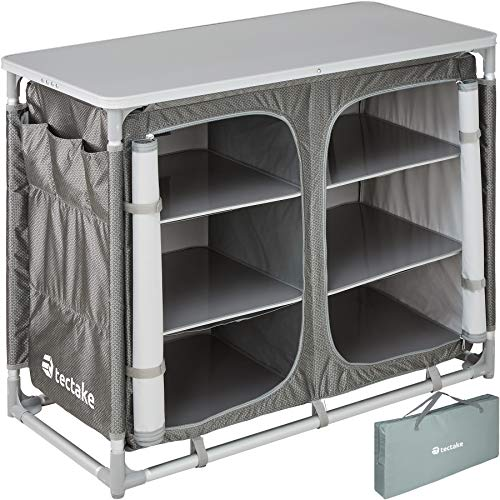 TecTake 800585 Outdoor Camping Küche - Diverse Modelle wähblar - (Typ 5 | Nr. 402923)
