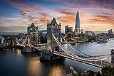 Betionol Puzzle de 1000 Piezas para Adultos, Tema- Puente de la Torre de Londres, Entretenimiento de Rompecabezas de 70x50 CM, Apto para niños de 8 años en Adelante, Bueno para la Actividad Familiar
