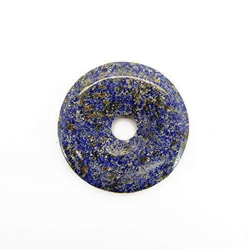 Donut de Lapislazuli Minerales y Cristales para curación, Belleza energética, Meditacion, Medicina Alternativa, Amuletos Espirituales
