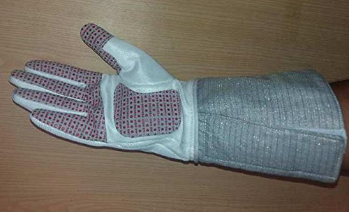 NPT Competition FIE Approved 800N Electric Sabre Fencing Glove with Conductive Cuff (11, Right)