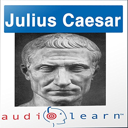 Shakespeare's Julius Caesar AudioLearn Follow-Along Manual audiobook cover art