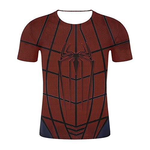 EQWR 2019 3D Movie Spider Man Far from Home Sudaderas con Capucha Hombres Mujeres Cosplay Disfraz Ropa universitaria Top M H