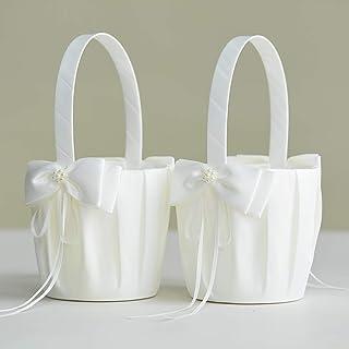 سلتان للفتيات من أتايلوف لزفاف بتصميم فيونكة لطيفة للبنات - عاجي