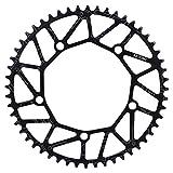 VGEBY1 - Ruota a catena per bicicletta, 50/52/54/56/58 T, 130 BCD, a velocità singola, per la maggior parte delle biciclette da strada, mountain bike (52 T)