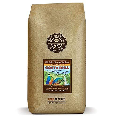 The Coffee Bean & Tea Leaf, Costa Rica Blend, Medium Roast Ground Coffee, 2 lb Bag