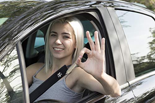 Athlete Ignited Seat Belt Cover 2-Pack (Black)