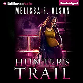 Hunter's Trail audiobook cover art